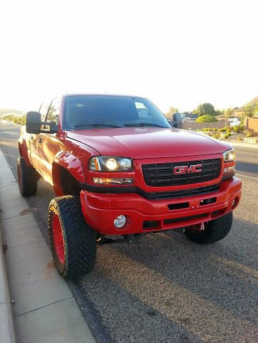 Duramax Diesel Power Products Old Red 12 Inch Skyjacker Lift Kit