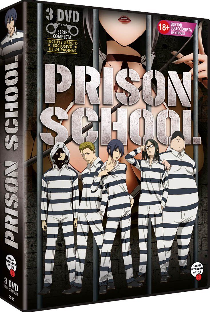 Prison School Serie Completa Libreto [DVD] Serie, School