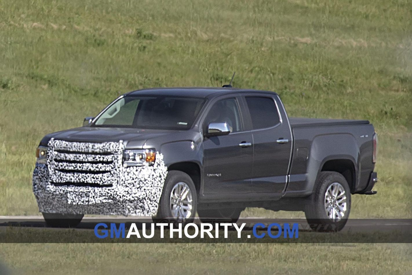 Do not expect too much from the GMC Canyon in the next
