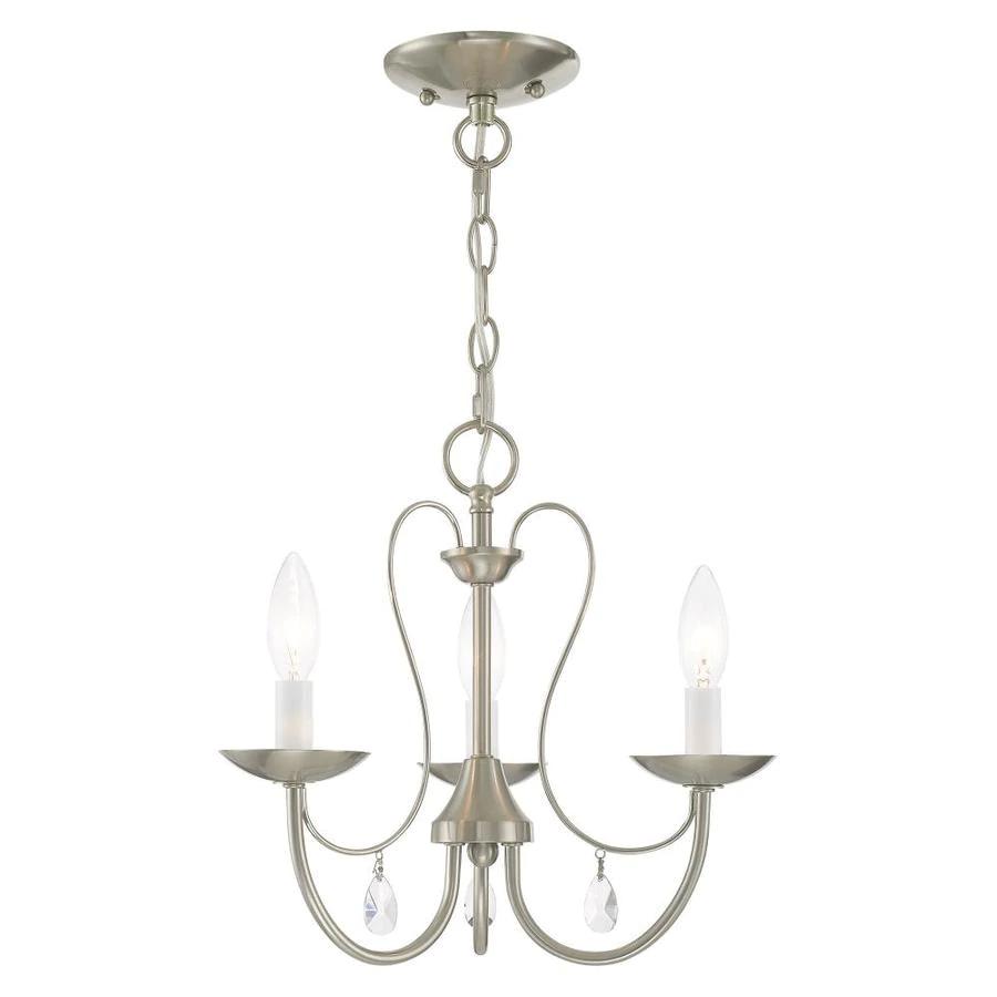 Livex Lighting 40863-92 Mirabella 3 Light English Bronze Chandelier