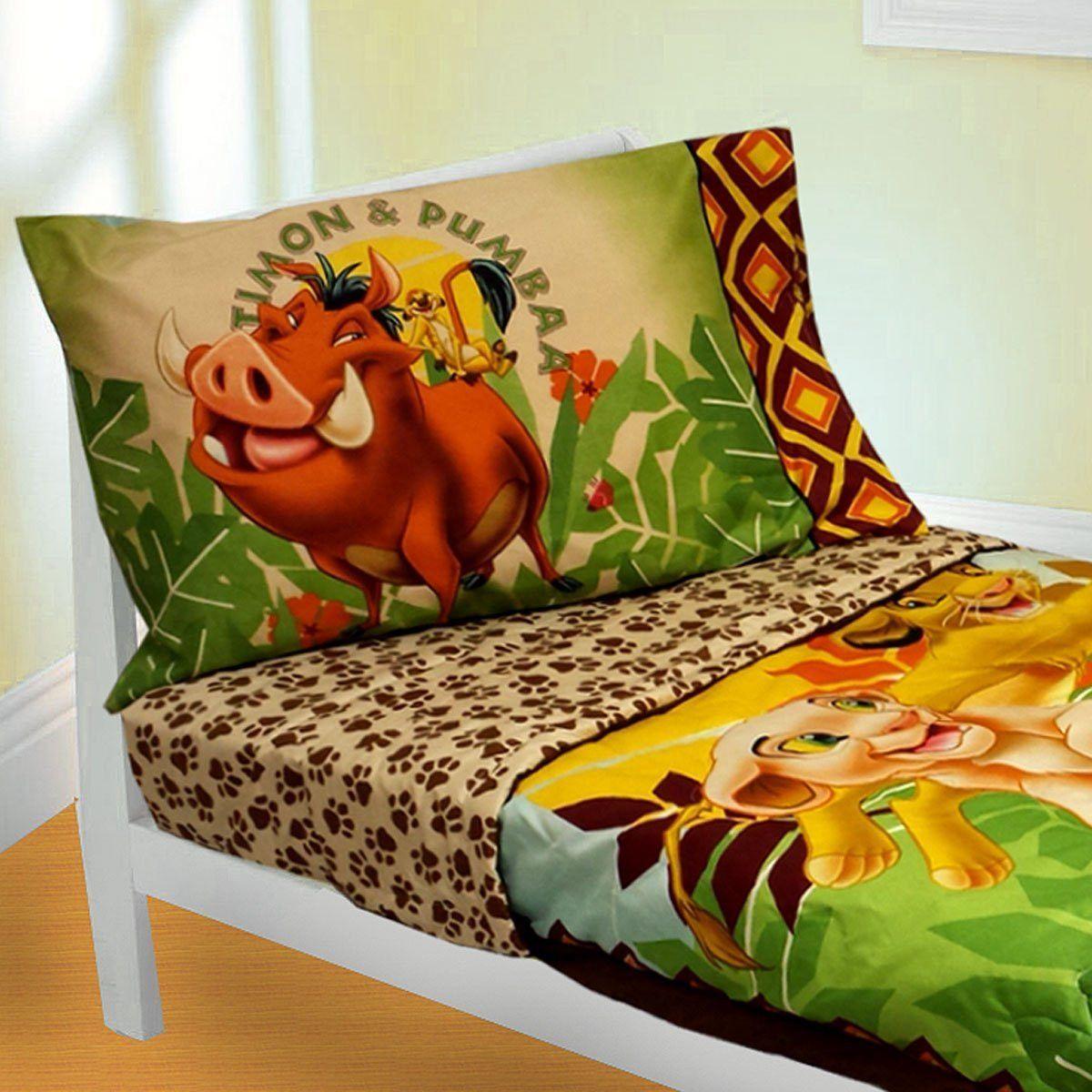 Disney Lion King 4 Piece Toddler Bedding Set Morgan