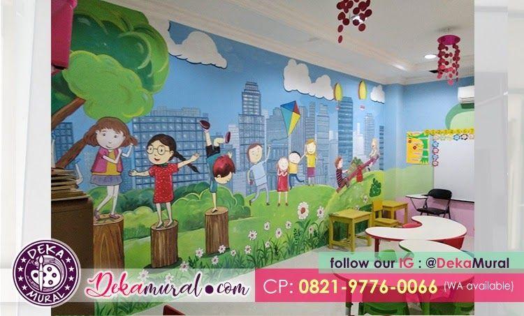 28 Gambar Gedung Sekolah Paud Kartun Child Harga Lukis Dinding Paket Hemat Dmp Pilihan Tepat Download Begini Cara Tk Di Mala Gambar Kartun Lukisan Dinding