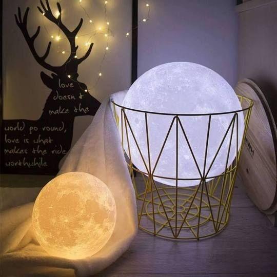 3d Paint Moon Light Lamp 16colors Toddeals Moon Light Lamp Night Light Lamp Lamp