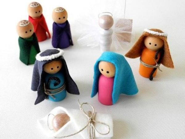Plastilina bambini ~ 11 presepi fai da te per bambini: le foto più belle e particolari