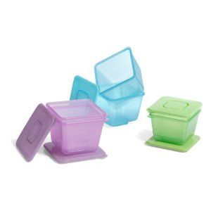 Annabel Karmel Stackable Food Pots Baby Food Storage Containers