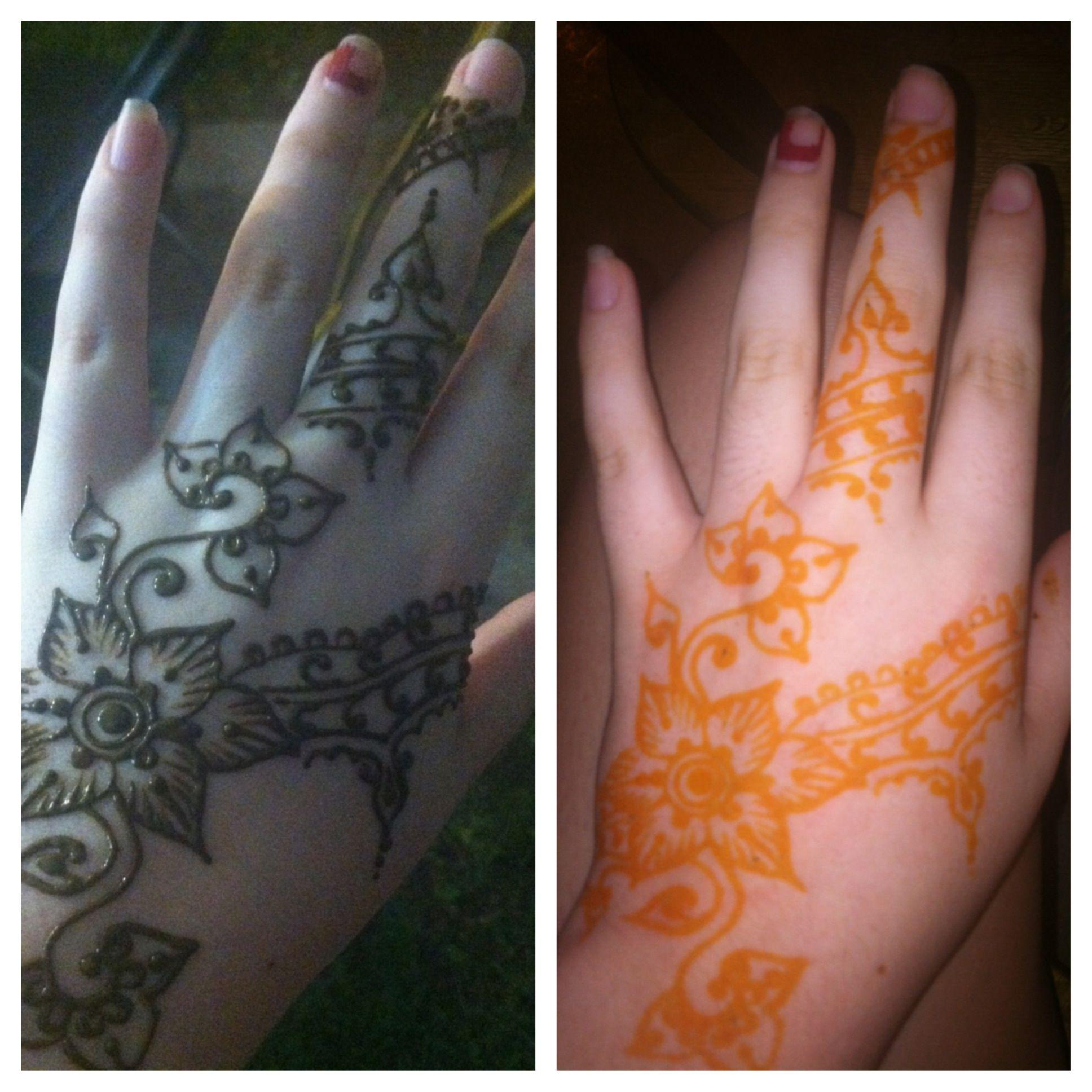 Permanent Henna Tattoo: Henna Tattoo (semi-permanent)