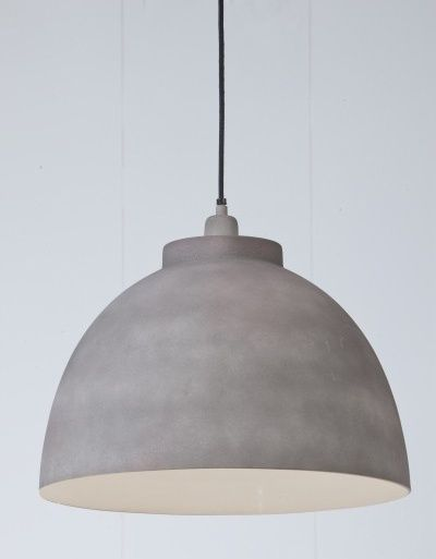 """Hanglamp """"Cement"""" Large"""