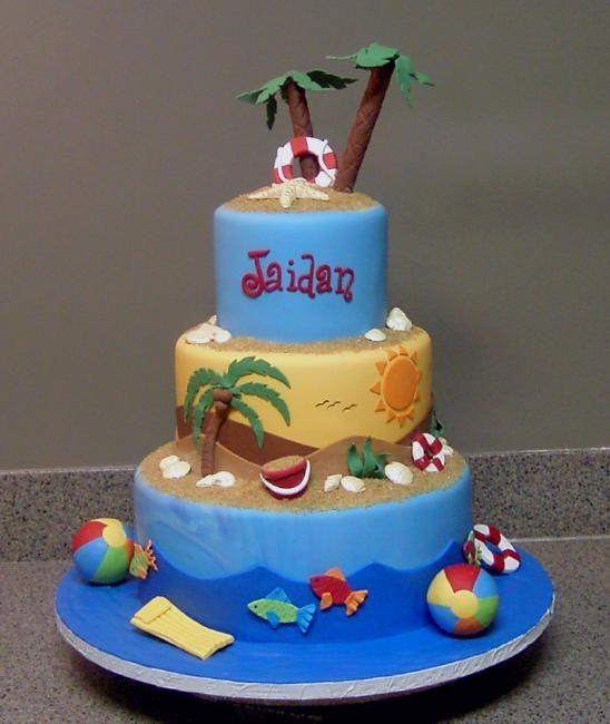 Beach Cake Beach Themed Cakes Beach Cakes