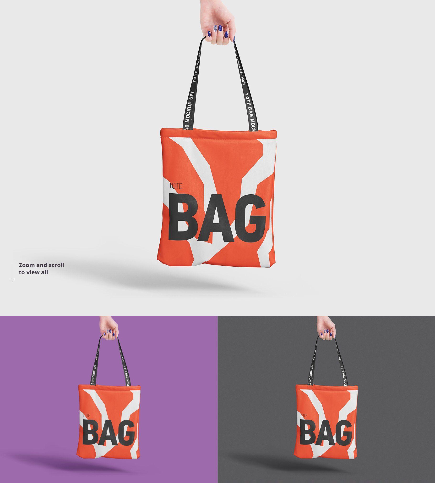 Download Tote Bag Mockup Bag Mockup Tote Bag Design Printed Bags