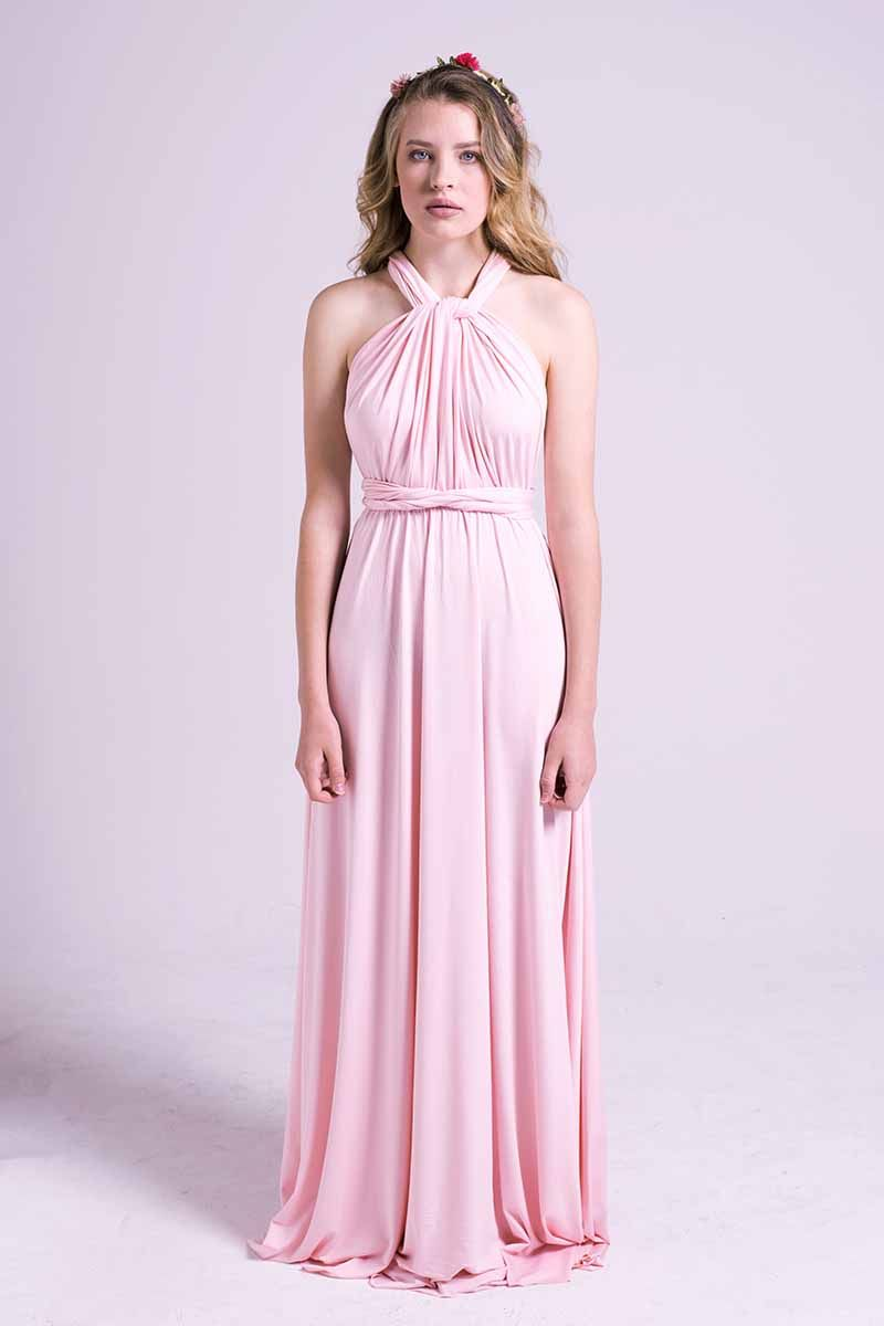 Classic multiway dress in light pink httpmodelchic classic multiway dress in light pink httpmodelchic ombrellifo Images
