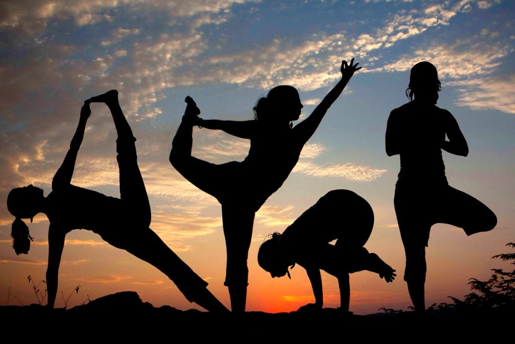yoga and meditation and in India is next big thing in Indian industry, yoga is ancient Indian fitne