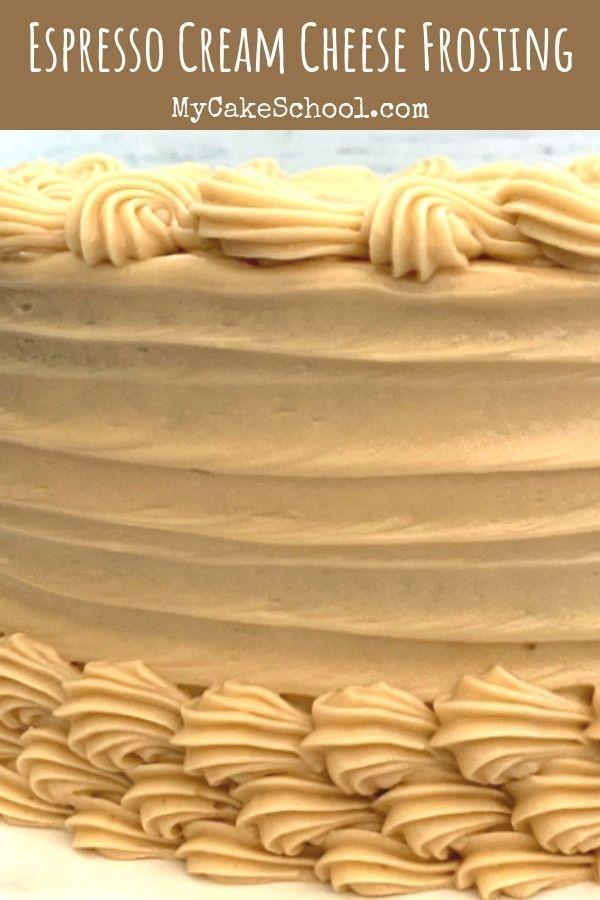 Espresso Cream Cheese Frosting #creamcheesefrosting