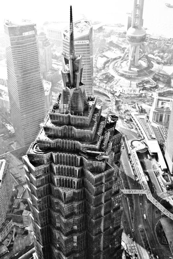 Jin Mao Tower. Shanghai by Sylvain Reiniche
