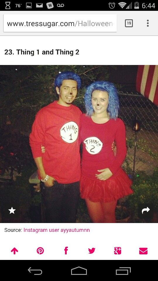 Cute with \ - pregnant couple halloween costume ideas