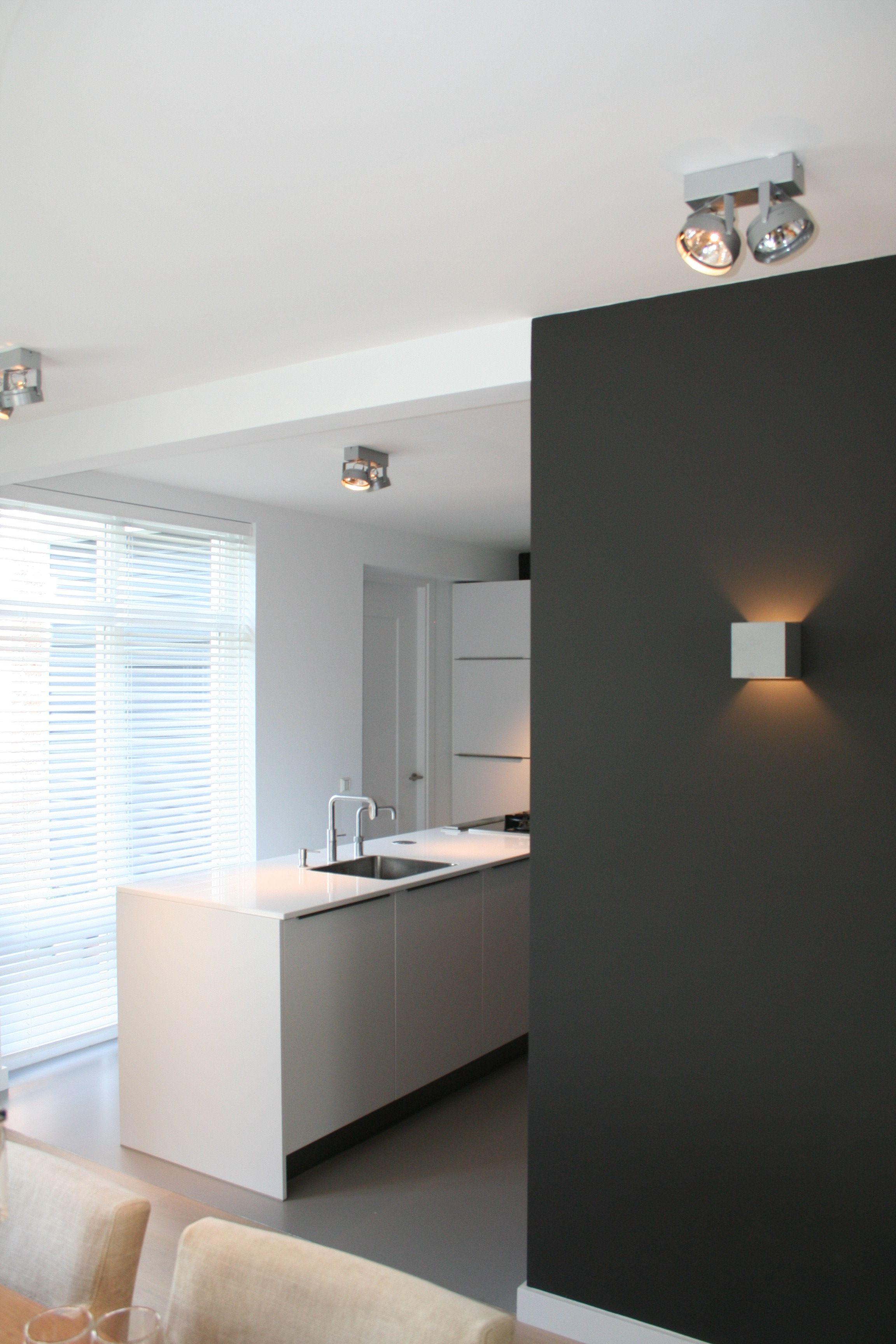 joli contraste de couleur pour s parer cuisine du s jour int rieur d co pinterest. Black Bedroom Furniture Sets. Home Design Ideas