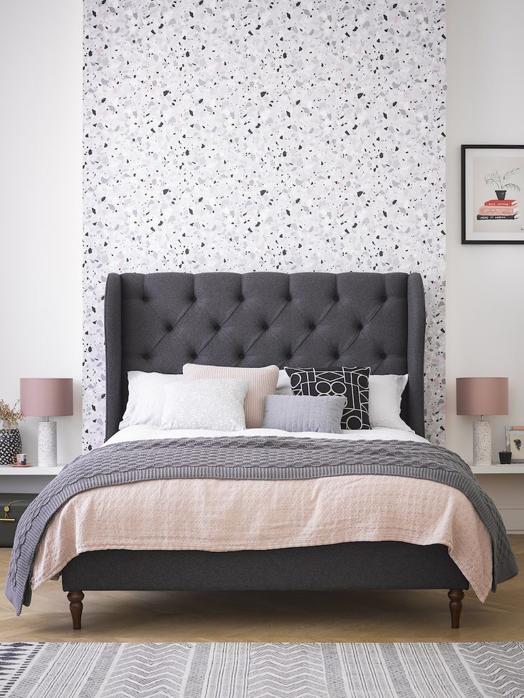 Camelia King Size Bed Frame King size bed, Interior