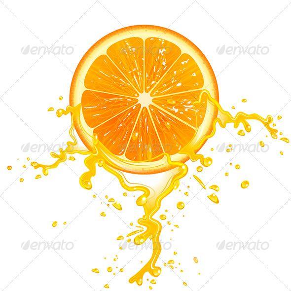 Orange Slice Orange Slices Orange Vector Design
