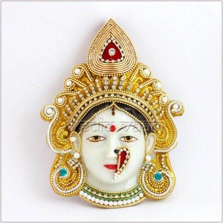 Maha Lakshmi Devi Face   Devi in 2019   Durga maa, Durga