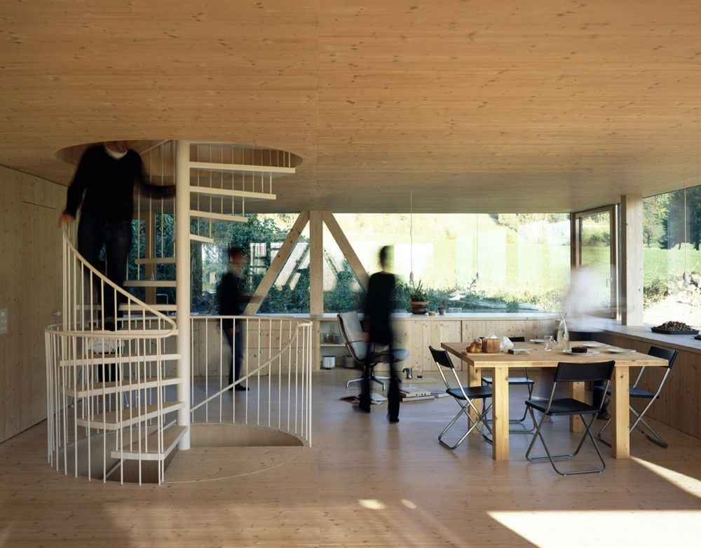 Gallery Of House In Balsthal Pascal Flammer 9 Barn Style House Timber House Architecture