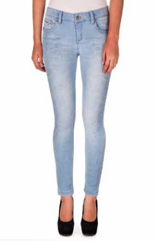 Light Wash Skinny Denim