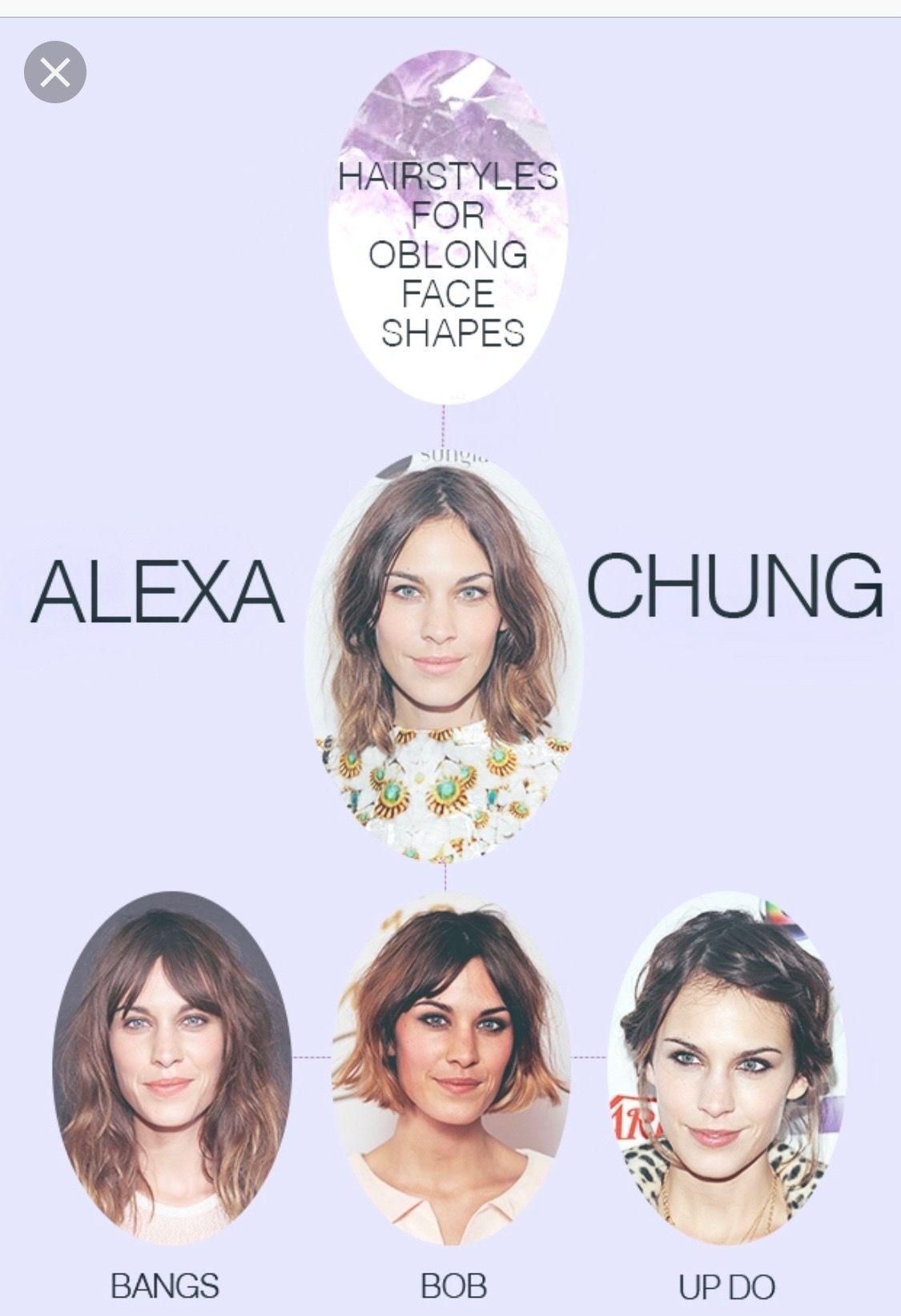 Hairstyle Oblong Face Shape Di 2020 Dengan Gambar