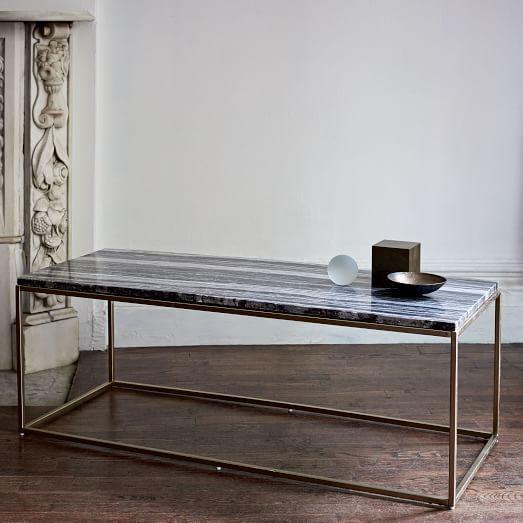 Mira Coffee Table Black Marble West Elm Coffee Table Retro Coffee Tables Coffee Table Rectangle