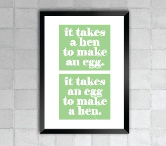 It Takes An Egg Jason Mraz Lyric Quote 8x10 Print by LyricWall