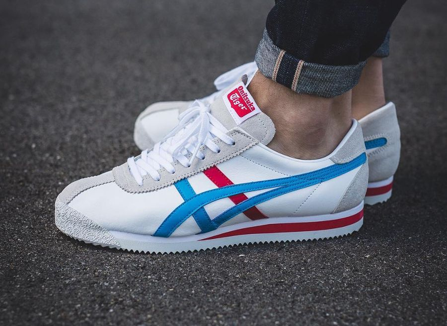 cheap for discount 0f4a9 f2b35 Onitsuka Tiger Corsair 'Island Blue' | shoes in 2019 ...