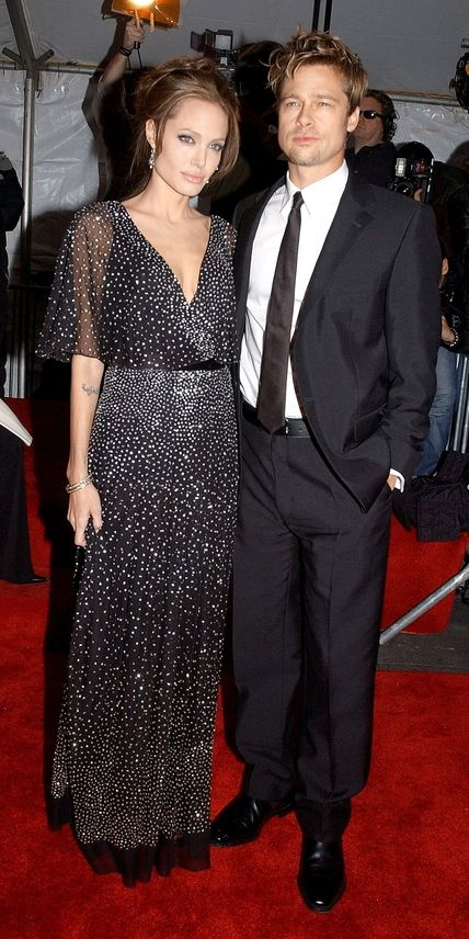 Brad Pitt and Angelina Jolie's Cutest Couple Moments - In Hollywood, 2006 from #InStyle