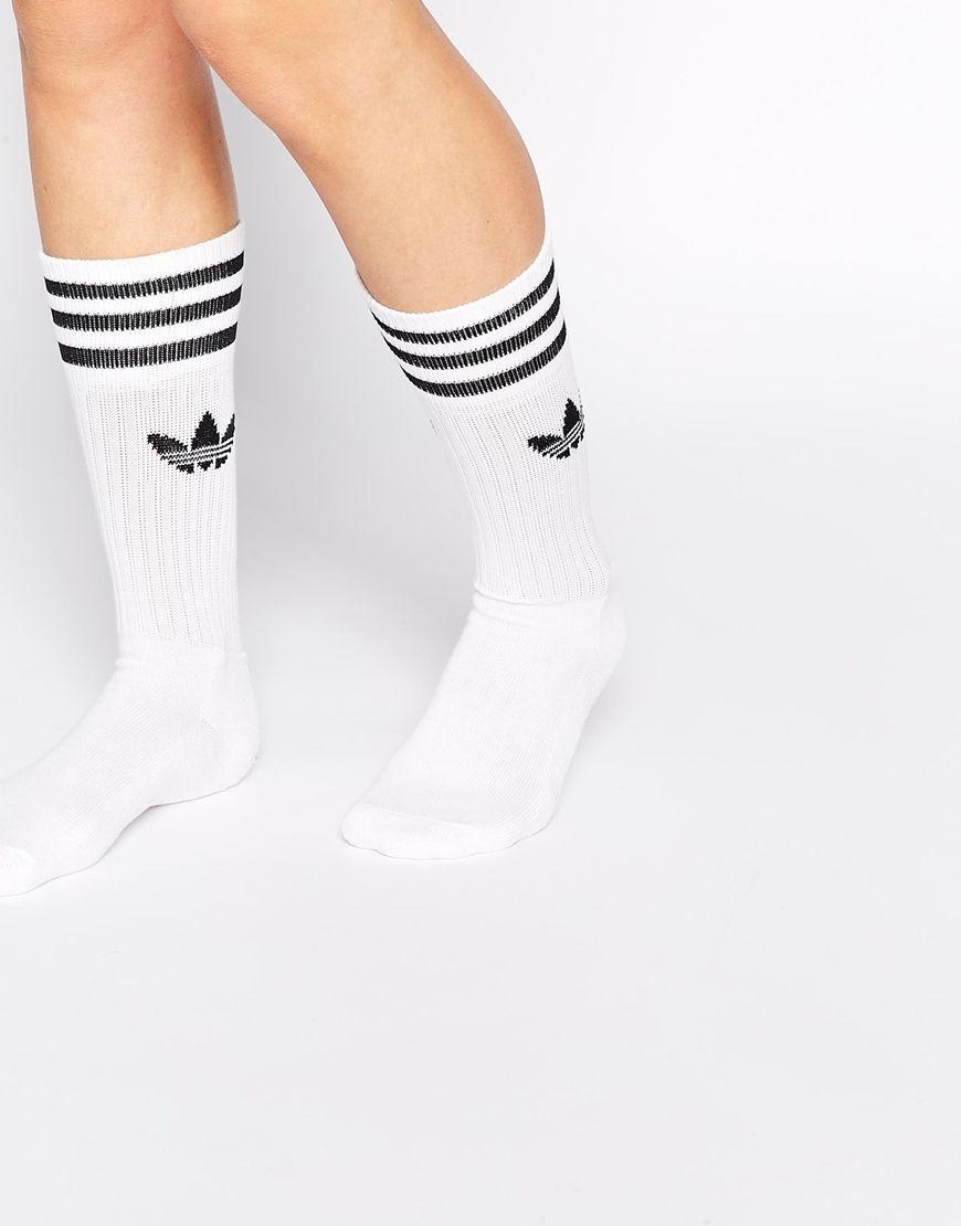 Calcetines de deporte lisos de adidas Originals | Ropa de
