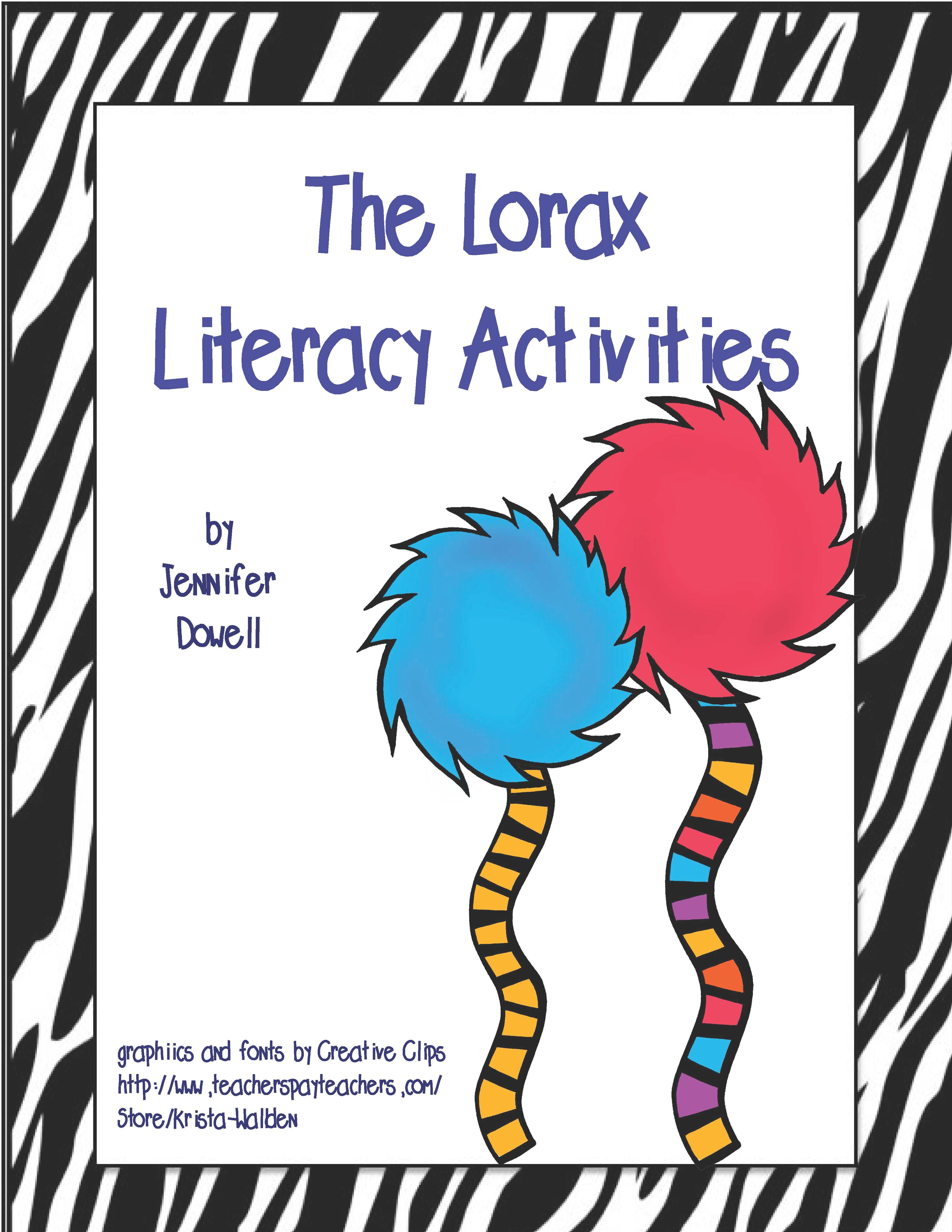 Printables Student Worksheet To Accompany The Lorax 1000 images about the lorax on pinterest earth day activities and perspective