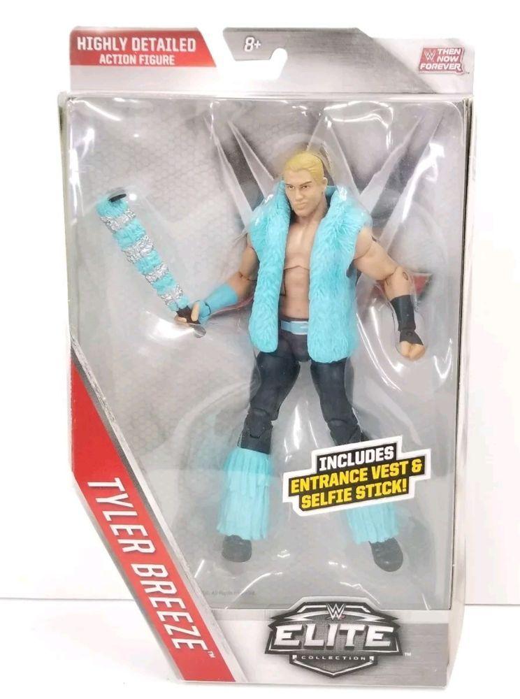 WWE Mattel Elite Tyler Breeze Then Now Forever Walmart complete excellent
