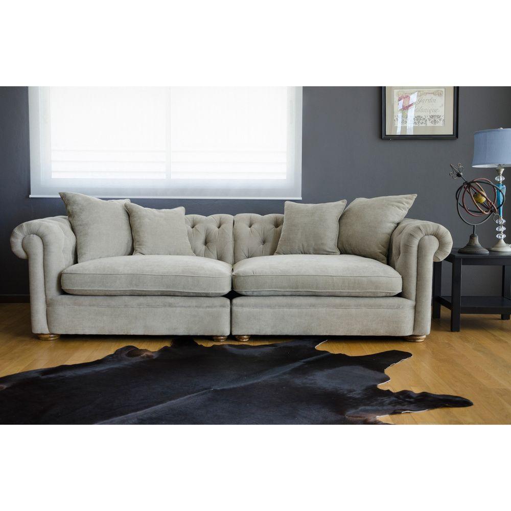 Benjamin Marinello Grand Sofa | Overstock.com Shopping - The ...