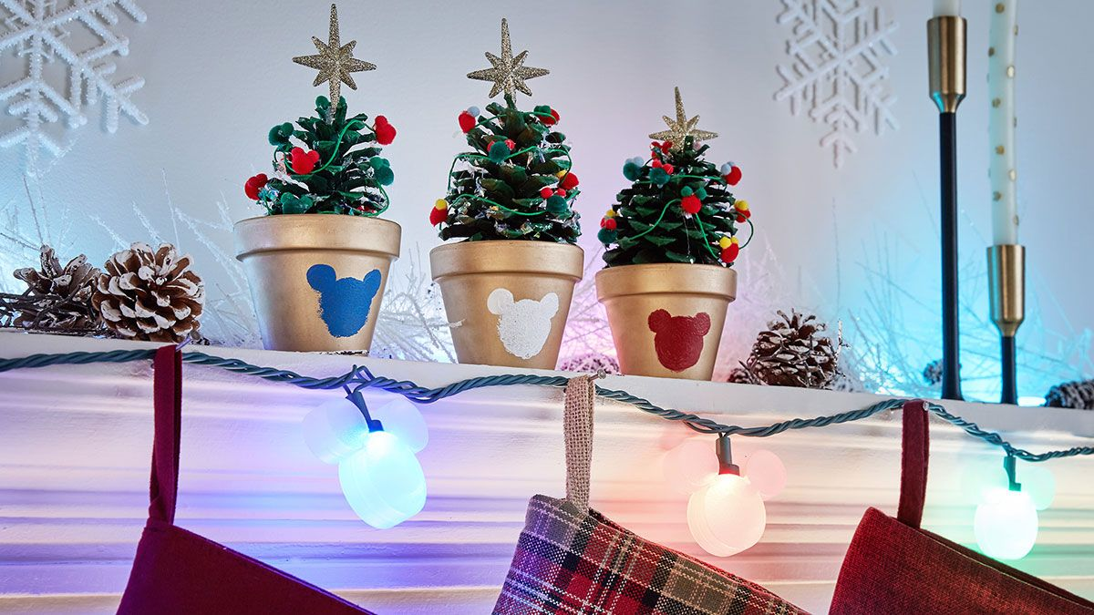 find out how were making the holidays bright with mickey mouse and disney magic holiday only at lowes - Lowes Disney Christmas Decorations