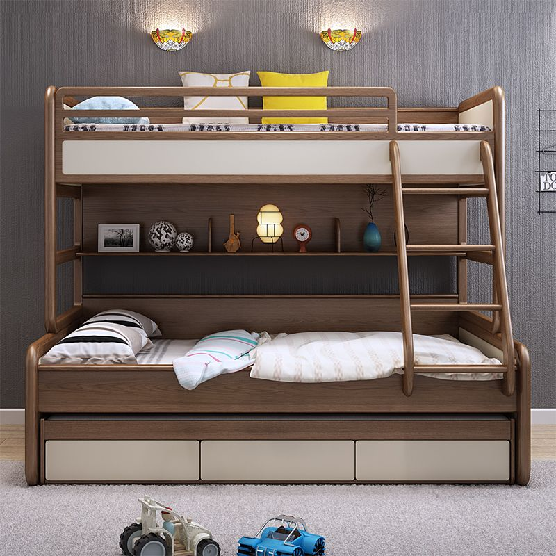 Cheap New Beds: Source Modern New Style Solid Wood Furniture Triple Bunk