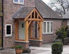 Storm Porch With Pitched Roof Google Search Cottage Porch