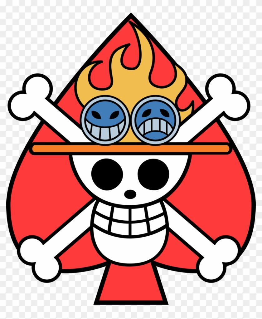 One Piece Ace Jolly Roger 314891 Ace Tattoo One Piece One Piece Ace Ace Flag