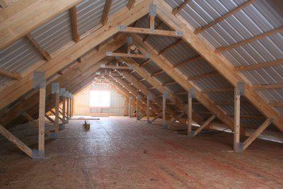 Attic Lofts attic frame support | loft framing | pinterest | attic, lofts and