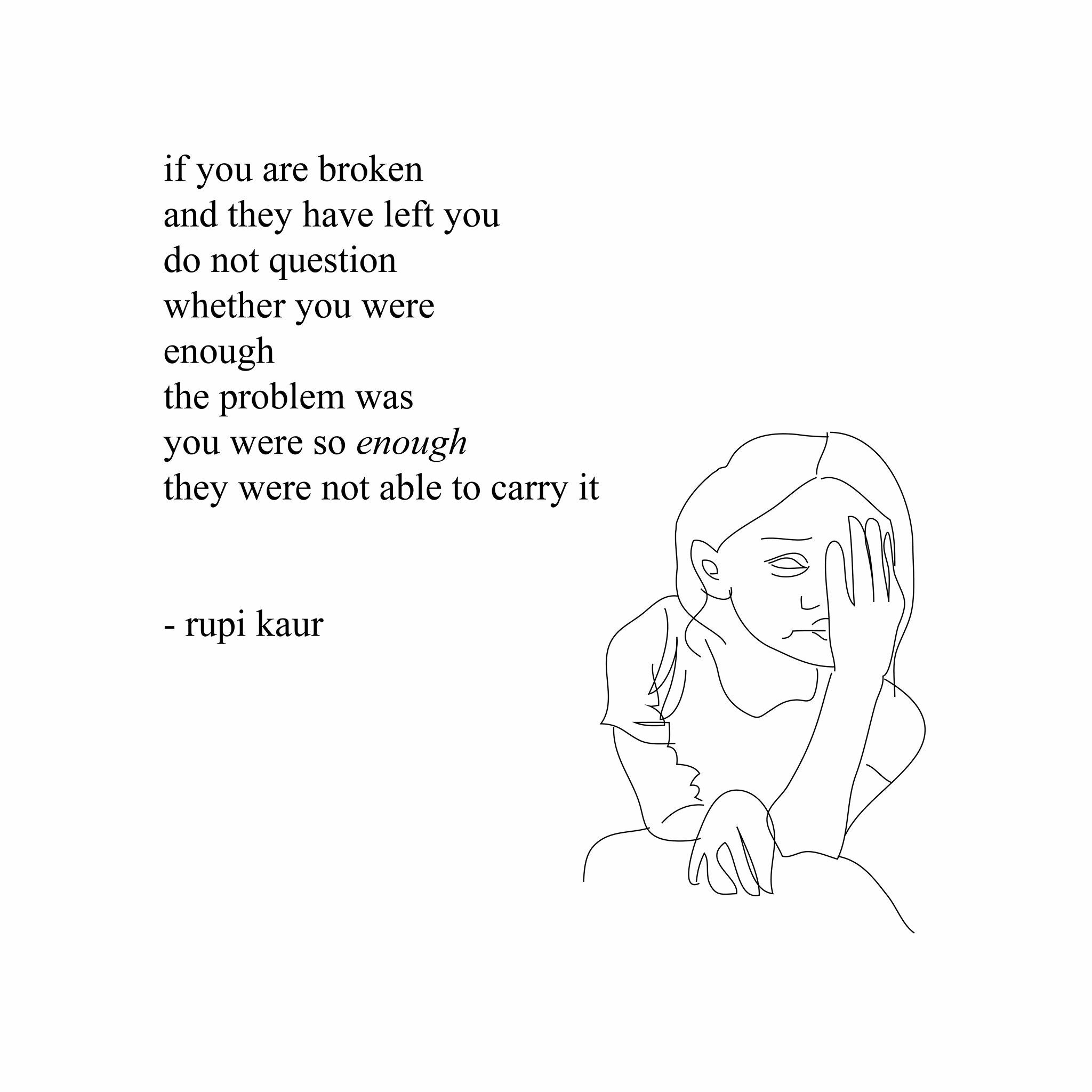 Pin By Brindha Menon On The Art Of Poetry Literature Rupi Kaur
