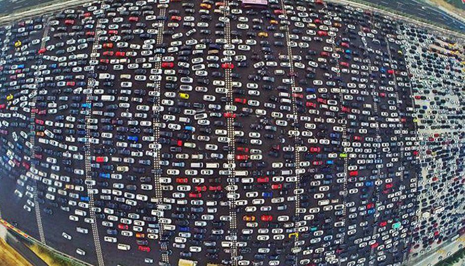#Traffic #ChinaTraffic #ChineseTrafficJam #EpicTraffic #Epictrafficjam #China