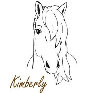 Horse Decal Girls Name Pony Wall Sticker Big Horse Decal Etsy Horse Drawings Horse Coloring Horse Coloring Pages