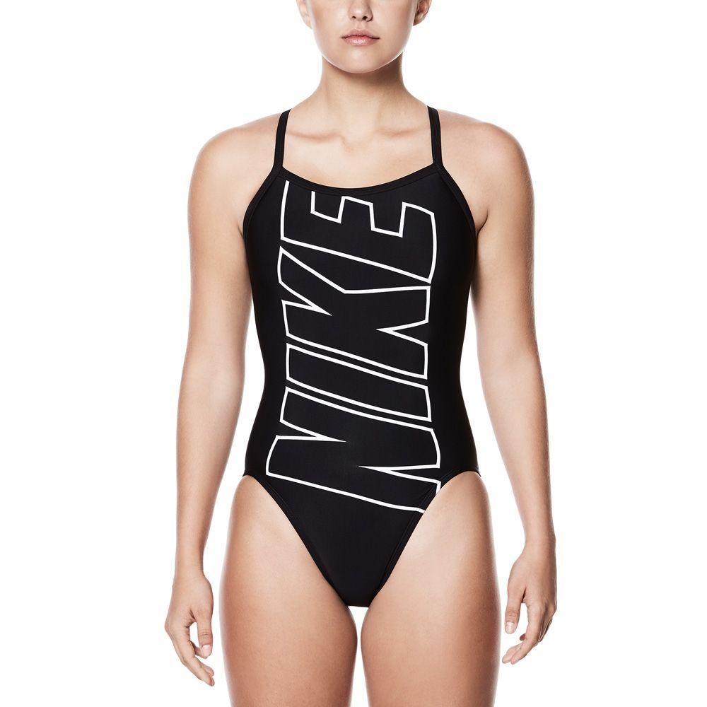 black nike swimsuit womens
