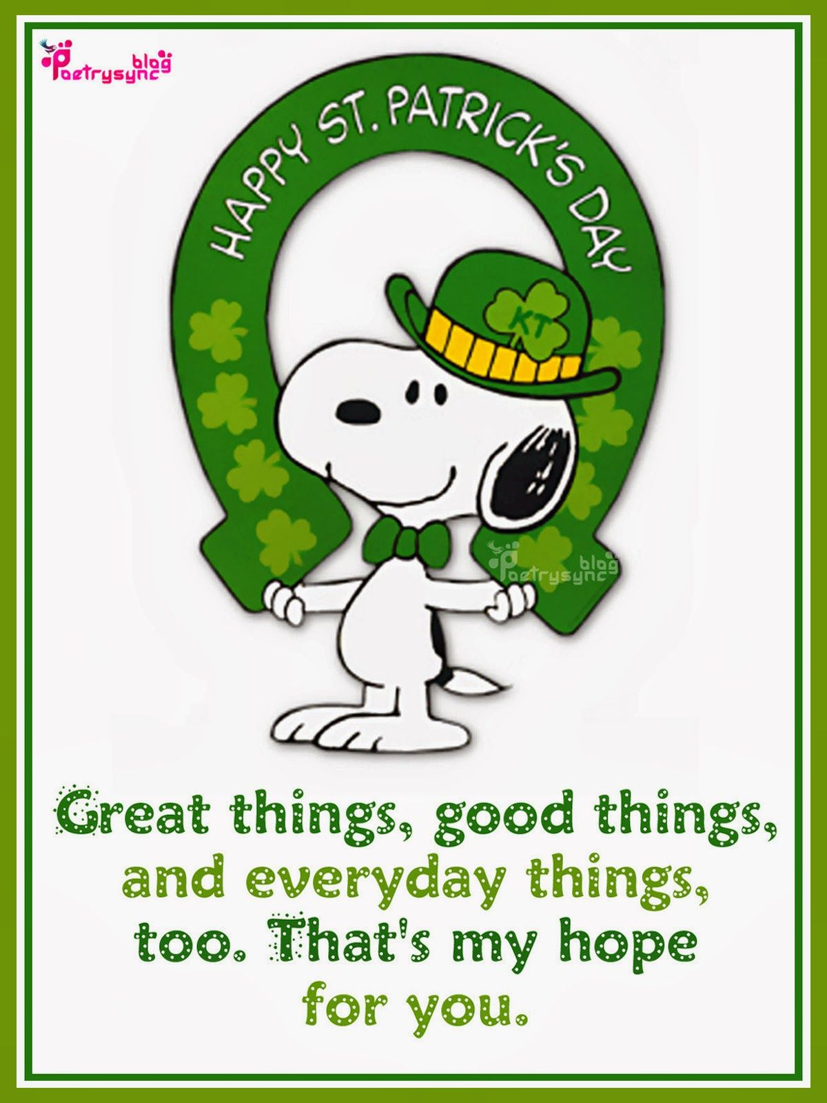Happy saint patricks day greetings picture irish saying image happy saint patricks day greetings picture irish saying image m4hsunfo