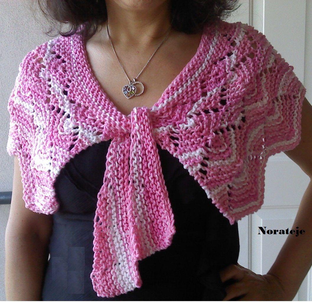 Capelet Knitting Patterns | Knitting patterns | Pinterest | Bufandas ...