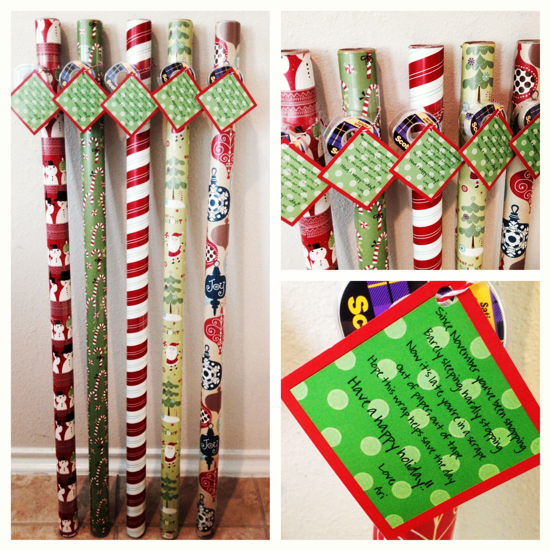 Simple Cheap Christmas Gifts: Teacher Christmas Gifts. So Simple, Inexpensive & Useful