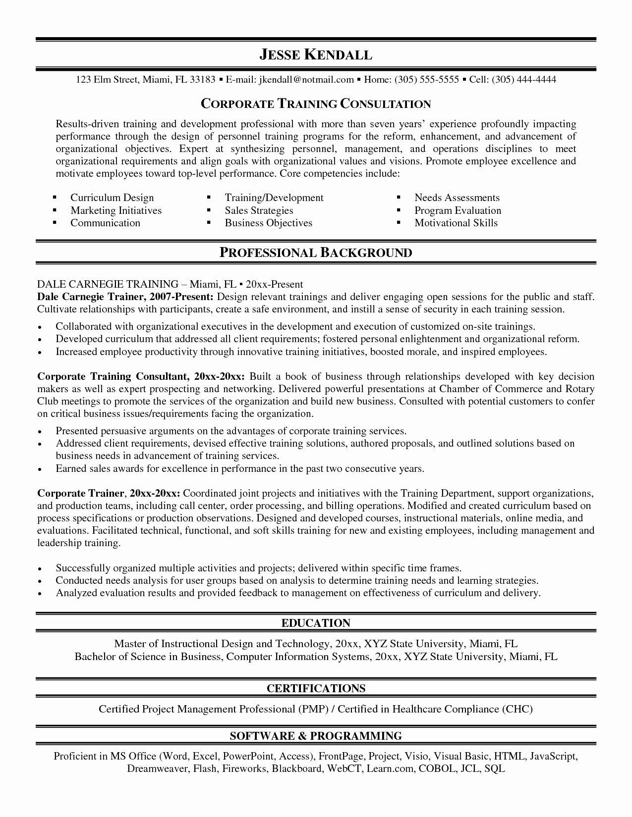 72 Cool Photos Of Resume Summary Examples Computer Science