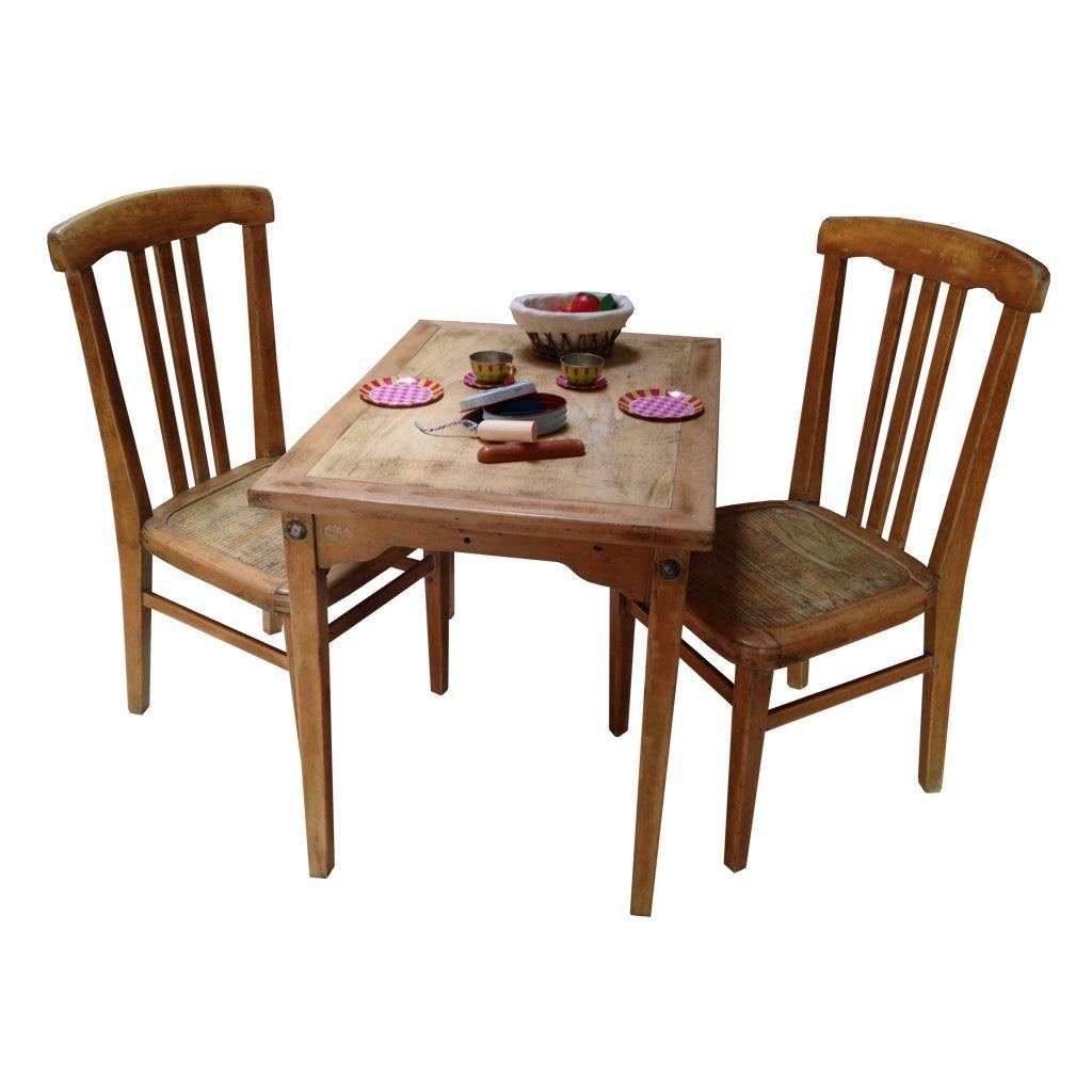 12 Calme Table Et Chaise En Bois Enfant Di 2020