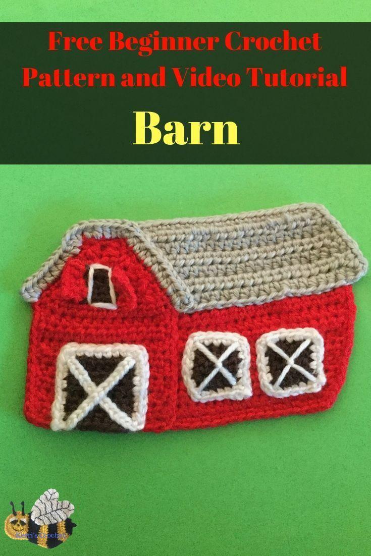 Crochet Barn Pattern