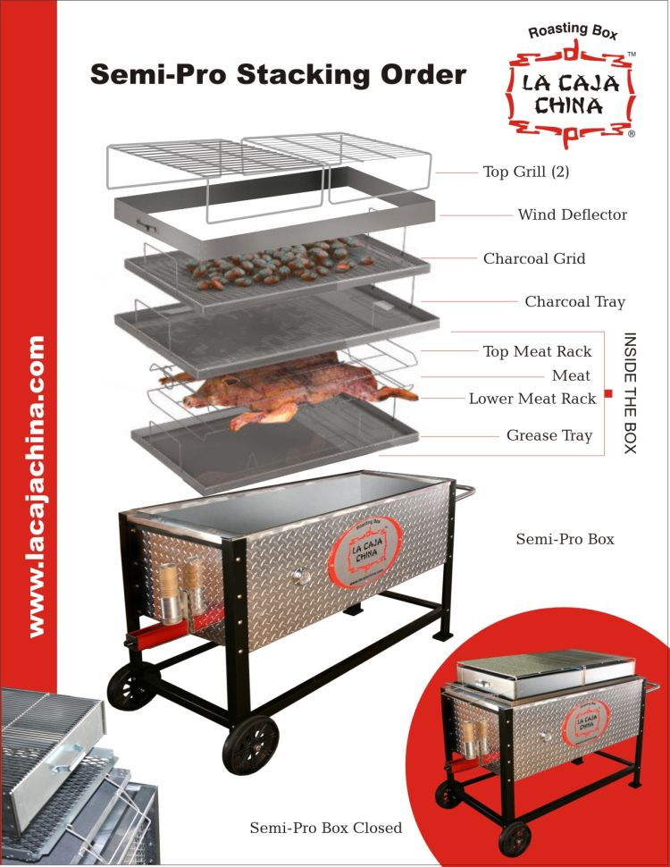 La Caja China Semi Pro Tray Stacking Instructions And The Ash