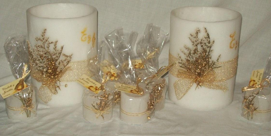 5adb00e9f velas de comunion artesanales - Buscar con Google   centro d mesa p ...